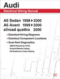audi a6 electrical wiring manual 1998 2000 bentley publishers audi a6 electrical wiring manual