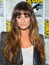 lea michele you can diy ombre without a kit for this look