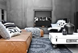 Legno Bianco Nero : Hk living tavolino su rulli di legno bianco nero cm
