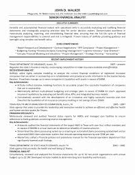 Rfp Resume Examples Best Of Senior Financial Analyst Resume Examples Sonicajuegos