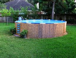 above ground swimming pool designs. Small Above Ground Swimming Pool Decks Designs