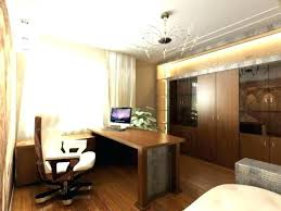 office lighting options. Home Office Ceiling Lights For Marvelous Best Lighting Options Fascinating With Led Plus Wooden Desk 53