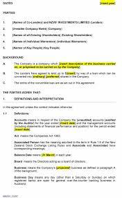 Financial Loan Agreement Template 24 Free Loan Agreement Templates [Word PDF] Template Lab 22