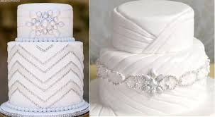 wedding cakes with edible bling. Contemporary Wedding JewelledweddingcakesbyPaolaCakeAtelierleft To Wedding Cakes With Edible Bling C