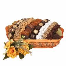 large israeli chocolate dried fruit nut basket israel only gift baskets in israel gift baskets by type oh nuts