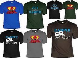 Camper T Shirt Camping Ausrüstung Lustige Sprüche Camping