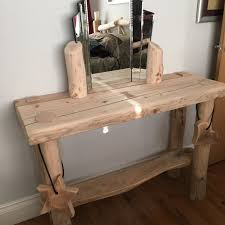 rustic furniture pics. DRESSING TABLE MADE FROM HAND PEELED LOGS AND RECLAIMED TIMBER Rustic Furniture Pics