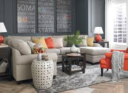 bassett living room furniture. hgtv home cu.2 u-shaped sectional by bassett furniture contemporary-living- living room f