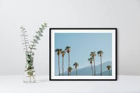 palm springs framed print cool birthday