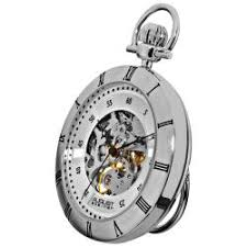 men s personalized silverplated pocket watch shipping on steiner men s water resistant automatic pocket silver tone watch