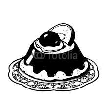 Cassatina Siciliana Disegno In Bianco E Nero Pasticceria Buy