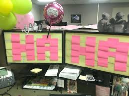 office party decorations. Birthday Decorations For Cubicles Best 25 Cubicle Ideas On Pinterest Office 600 X Party