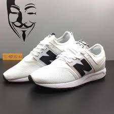 new balance shoes for men white. new balance men 247 classic mrl247wb white black mens womens running shoes for