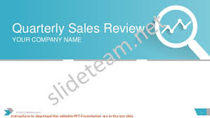 Quarterly Sales Review Powerpoint Presentation Ppt