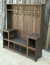 Entryway Bench With Storage And Coat Rack Amazing Amazing Bench With Hooks And Storage For Shoes So They Aren't All