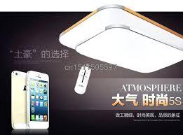 remote control ceiling light fixture led lights aluminum alloy lamp remote control ceiling light