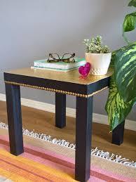 Gold Nailhead Table