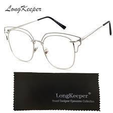 2019 plain eyeglass frames vintage eye glasses clear lens optical glass for women men retro frame gafas armacao oculos de grau ks8056 from haydena