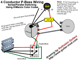 p bass series parallel switch help talkbass com