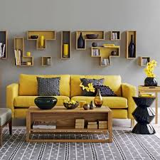 gray and yellow furniture. What Color Walls Grey Furniture | Inspiring-art-design-to-create- Gray And Yellow Pinterest