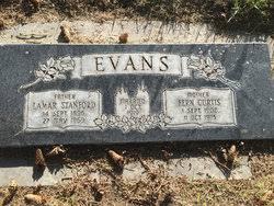 Fern Curtis Evans (1902-1975) - Find A Grave Memorial