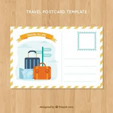 Travel Postcards Vectors, Photos And Psd Files | Free Download