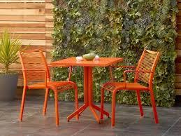 orange patio furniture you