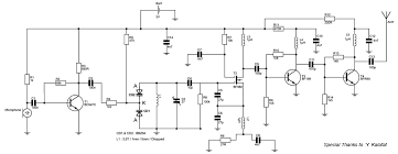 fm transmitter circuit schematic with r90