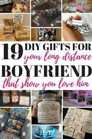diy gifts for your long distance boyfriend that show you love him