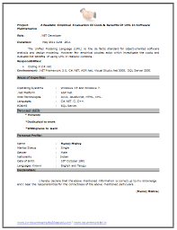 Fresher Resume Sample (Page 2) | Career | Pinterest
