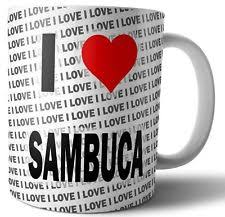 Image result for tea with sambuca
