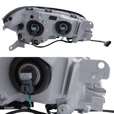 2008 2009 2010 2011 2012 Chevy Malibu Black Headlights Replacement ...