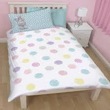 me to you tatty teddy bonbon pink polka dot single duvet quilt