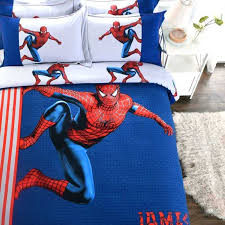 spiderman full bedding set fashionable blue color spider man bedding set 3 fashionable blue color spider spiderman full bedding set