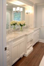 bathroom double sink cabinets. pinners seem divided on their favorite style of bathroom. this popular pin is a traditional, all-white bathroom with his and hers sinks. double sink cabinets