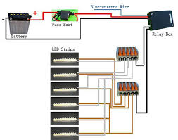 wiring diagram led strip lights wiring image install led lighting strips on motorcycle 6 steps on wiring diagram led strip lights
