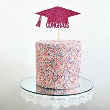 Glitter Graduation Cake Topper Cap Class Of 2019 High School