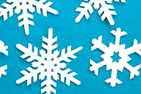 Snowflake Template Printable Cut Out Paper Snowflakes On A