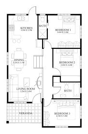 home design floor plans. Fine Design Small House Design  2014005  Pinoy EPlans Modern House Designs Small  Design And More Inside Home Floor Plans
