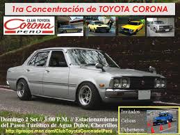 Toyota Corona - Information and photos - MOMENTcar