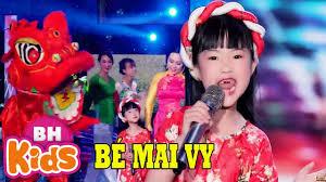 NGÀY TẾT QUÊ EM ♫ Thần Đồng Âm Nhạc Bé Mai Vy - Lưu Ánh Loan | Nhạc Tết  Thiếu Nhi - YouTube