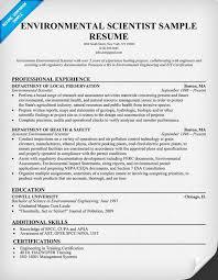 Environmental #Scientist Resume Example (http://resumecompanion.com)
