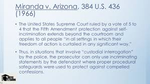 the courts and the constitution ppt video online  36 m da v arizona