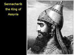Image result for king hezekiah seeks prophet isaiah