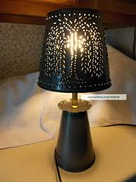 punched tin lamp shades home design cool lamps lighting pertaining to