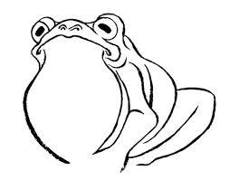 蛙の和風浮世絵風イラストの描き方3ステップ 似顔絵映画浮世絵師
