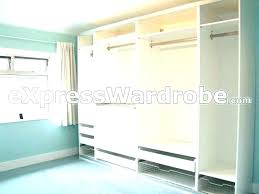 mirrored wardrobe wardrobes sliding mirror doors instructions trend ikea pax