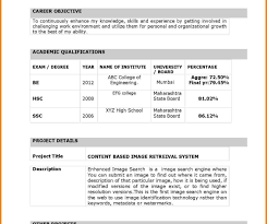 Exelent Indian Doctors Resume Format Model Example Resume And