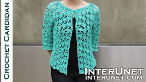 Crochet Cardigan Pattern Magnificent Front Tie Lace Cardigan Crochet Pattern Part 48 Of 48 YouTube