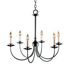 detail simple lines 6 arm chandelier